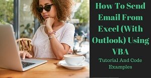 Excel VBA Tutorial about how to send email from Excel