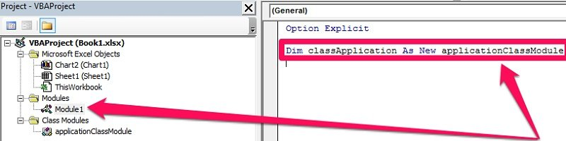 Dim classApplication As New applicationClassModule