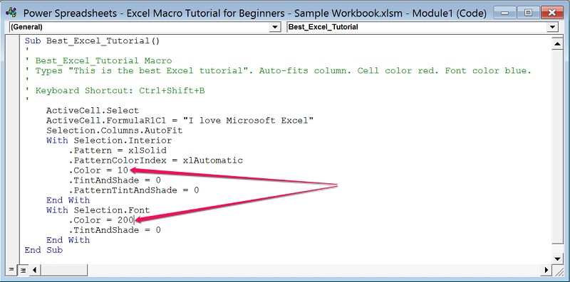 writing macros in excel for beginners How to create visual basic for applications (vba) in excel visual basic for applications vba basics before we can write excel vba tutorial for beginners.