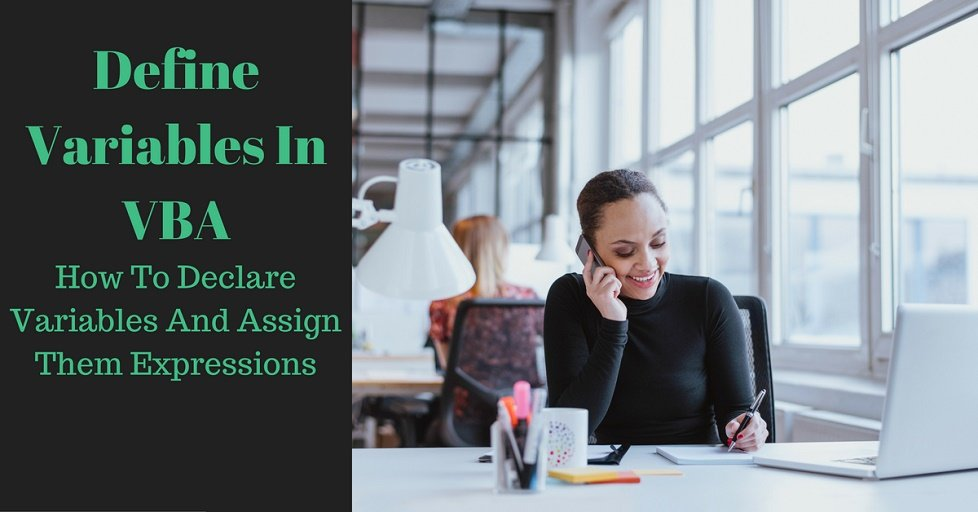 Worksheets Vba Sample Declaration Of Multiple Choice Worksheet Pdf define variables in vba declare and assign them expressions