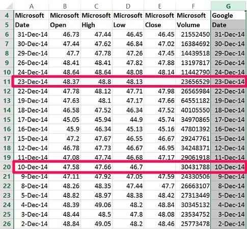 how to delete all blank lines in excel