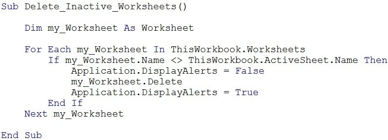 Worksheets Vba Sample Declaration Of Multiple Choice Worksheet Pdf vba methods the complete guide to working with in excel example macro illustrate object properties