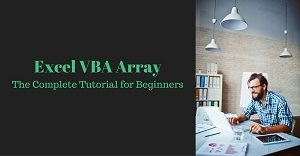 Excel VBA tutorial about arrays