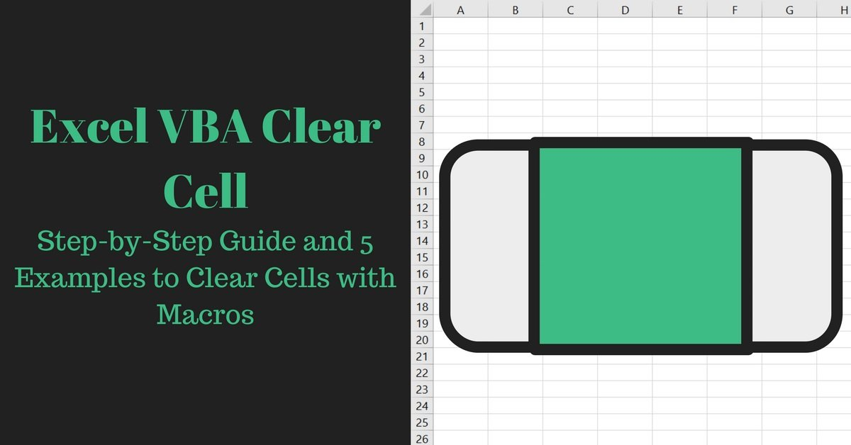 Excel VBA Clear Cell: Step-by-Step Guide and 5 Examples