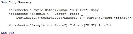 Excel VBA Copy Paste The Complete Tutorial And 8 Examples – Vba Copy Worksheet