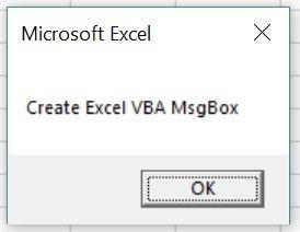 Macro creates MsgBox