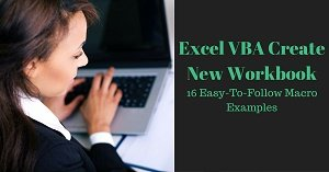 Excel VBA Create New Workbook
