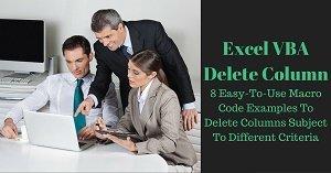 Excel VBA Delete Column
