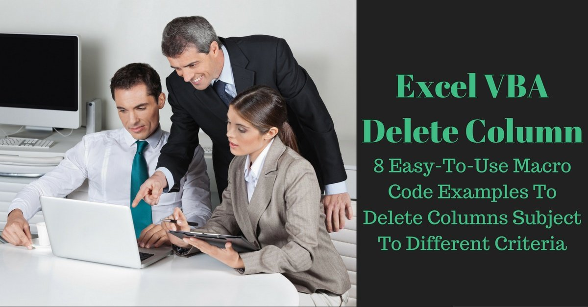 Worksheets Delete Worksheet Vba excel vba delete column 8 easy to use macro code examples