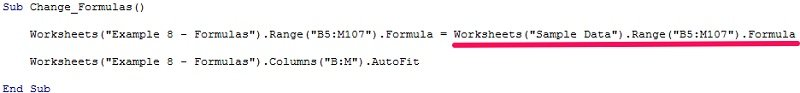 Example macro to copy and paste formulas with alternative