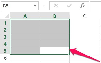 excel vba object base range