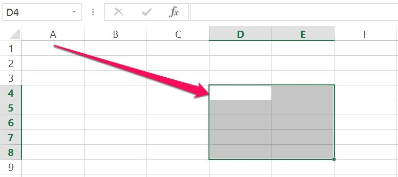 Excel's VBA Range object with Offset property
