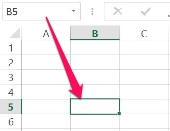 Excel's VBA object reference example: Intersection