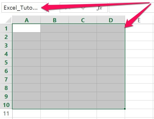 Excel's VBA Range object reference: Named range with shortcut