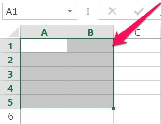 Excel's VBA Range object reference: Range using shortcut