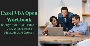 Excel VBA Tutorial about how to open workbooks and files