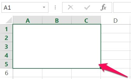 Excel's VBA Range object reference: Merged cells