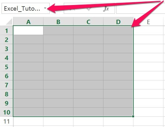 Excel's VBA Range object reference: Named range