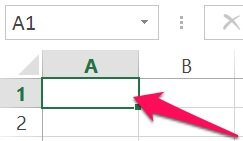 Excel's VBA Range object reference: Single cell with shortcut