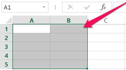Excel's VBA Range object: Range using Cells property