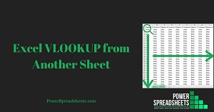 Excel VLOOKUP from Another Sheet in 4 Easy Steps (+ Free Easy-To-Adjust Excel Workbook Example)