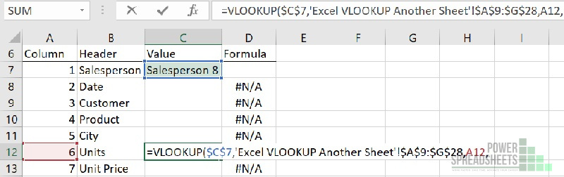 Example: Column number for VLOOKUP from different worksheet