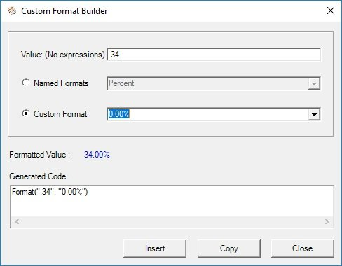 Create and preview number formats