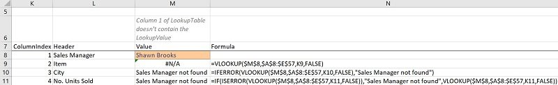 IF ISERROR VLOOKUP formula carries out a VLookup and handles possible errors (with IF ISERROR vs. IFERROR)