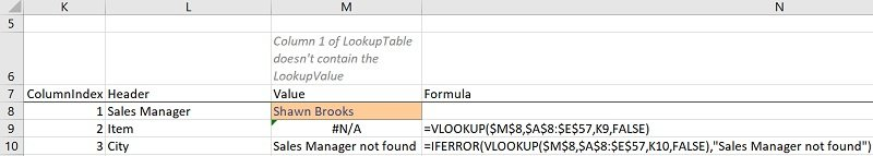 IFERROR VLOOKUP formula carries out a VLookup and handles possible errors (with IFERROR vs. IFNA)