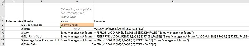 IFNA VLOOKUP formula carries out a VLookup andreturns 0 if the VLOOKUP function returns the #N/A error (with IFNA vs. IFERROR)