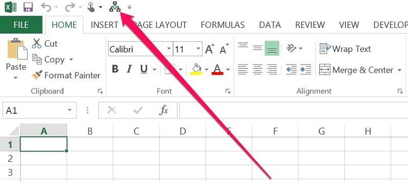 VBA Sub procedure in Quick Access Toolbar