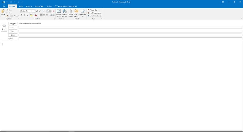 MailItem.Display VBA method in Outlook