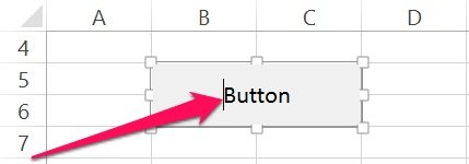 How to modify text of a VBA Sub procedure button