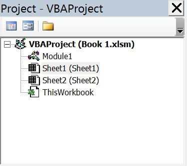 Project Explorer with non-hierarchical list