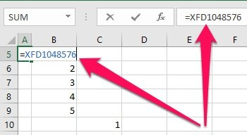 Excel formula with mistake from FormulaR1C1