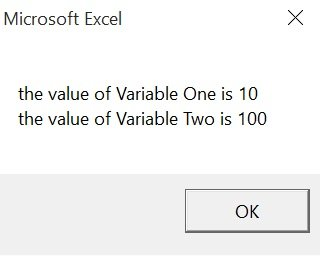 Result of using module-only variables in VBA