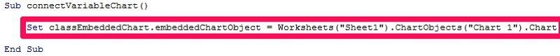 Set classEmbeddedChart.embeddedChartObject = Worksheets.ChartObjects.Chart