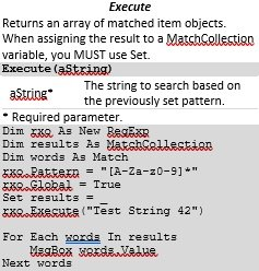 Excerpt of Using Strings in VBA Cheat Sheet