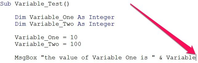 Worksheets Vba Sample Declaration Of Multiple Choice Worksheet Pdf define variables in vba declare and assign them expressions beginning of typing shortcut for declared variables