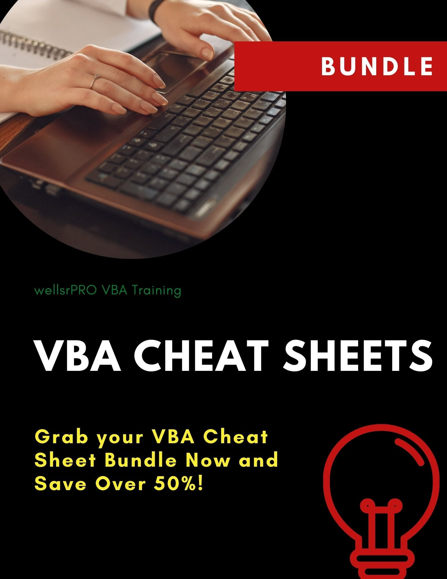 Grab your VBA Cheat Sheet Bundle