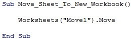 "Worksheets(""Move1"").Move"