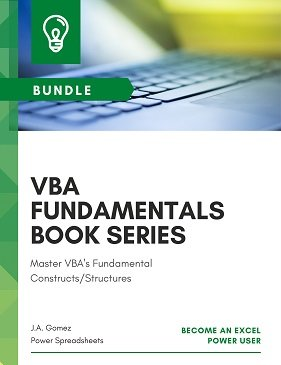 Master VBA's fundamental constructs and structures