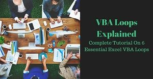 Excel VBA Tutorial about Loops