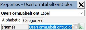 Specify UserForm Label codename