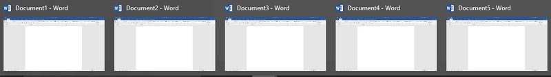 Documents collection in Word